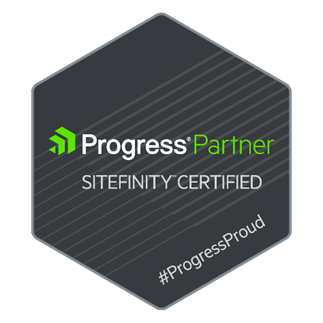 Progress Partner - Sitefinity Certified